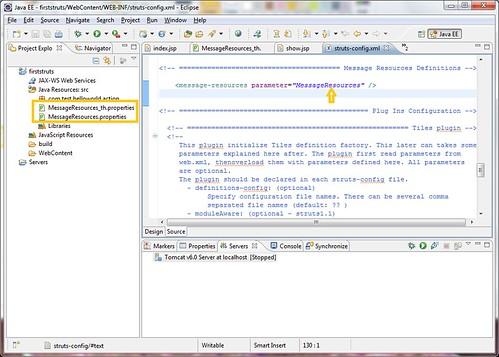 1 - properties file