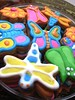 Garden theme cookies