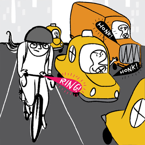 aggressive cycling