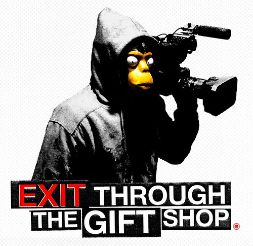 exit through the gift shop - monkey