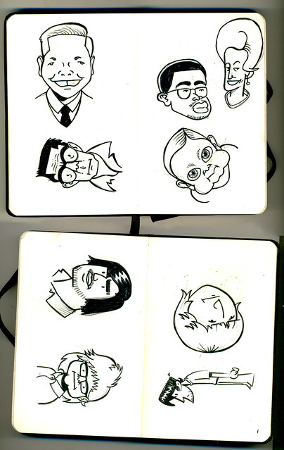 Mini sketchbook #01