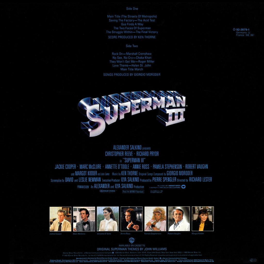 Ken Thorne - Superman III