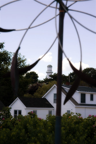 One of the two lights, and a windcatcher.