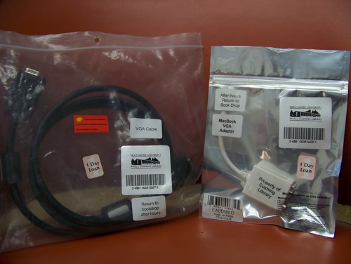 VGA Cables and MacBook VGA Adapters for 1-Day Loan