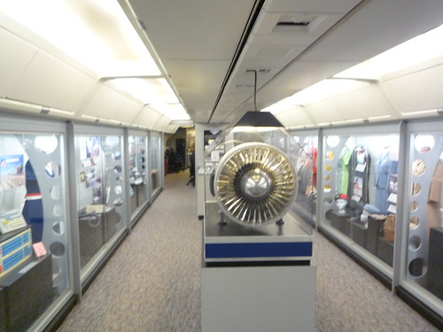 Exhibits on Spirit of Delta Cabin