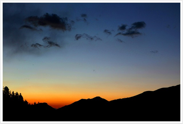 Before Sunrise, Rocky Mountains
