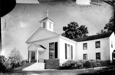 Ebenezer Methodist Glass Negative
