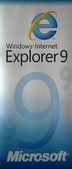 Windows Internet Explorer 9 Banner