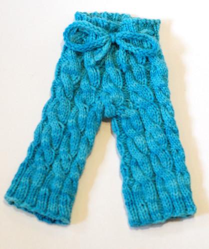 Newborn Twisty Trousers