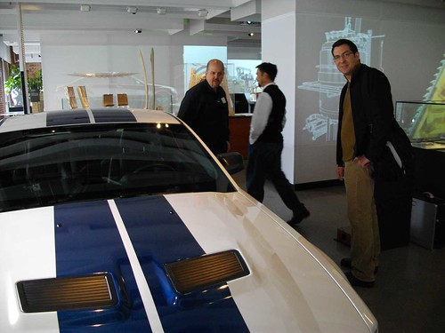 Ford GT500 Exhibit, Autodesk Gallery @ Market One