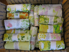 vintage sheet fat quarter swap 4