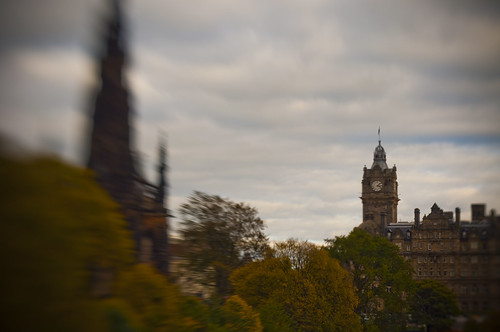 Balmoral and Scott Monument