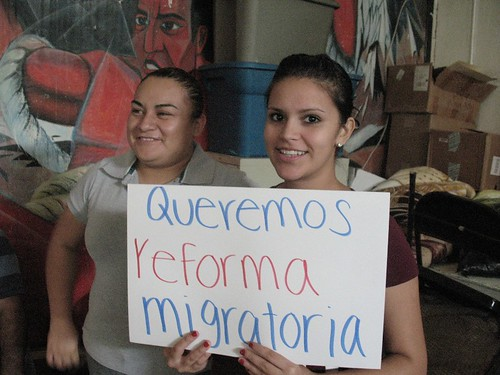 """""""We want immigration reform!"""""""