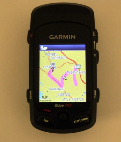 Dummies Guide to the Garmin Edge 705 (2/4)