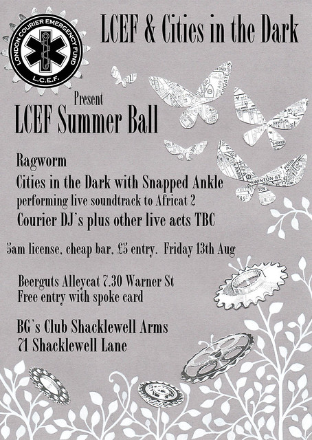 Chandra's LCEF Summer Ball Flyer