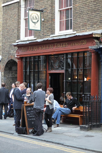 The Jerusalem Tavern, Clerkenwell