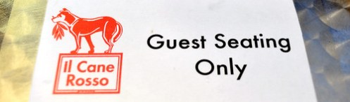 Guest Seating Only