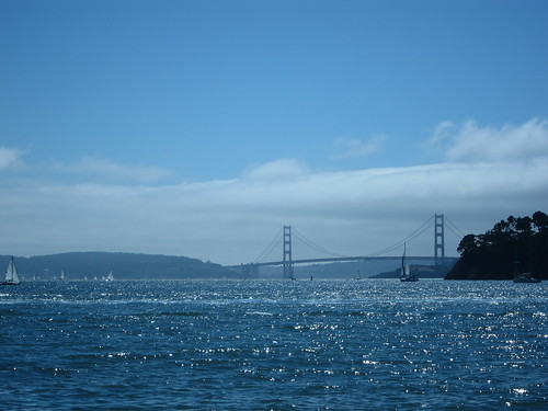 Golden Gate Bridge from Tiburon