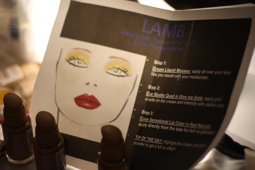 L.A.M.B. COLOR CHART