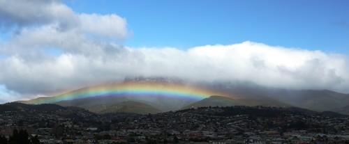 Snowbow Around Mt Wellington