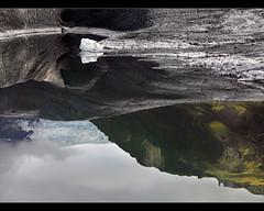Aging Ice - Svínafellsjökull in Skaftafell, Iceland. by orvaratli