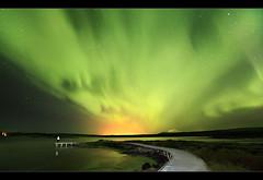 Aurora Explosion - Þingvellir, Iceland by orvaratli