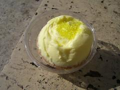 Lemon cupcake from Miss Cupcake shop in Paris