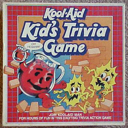 Kool Aid Kid's Trivia Game