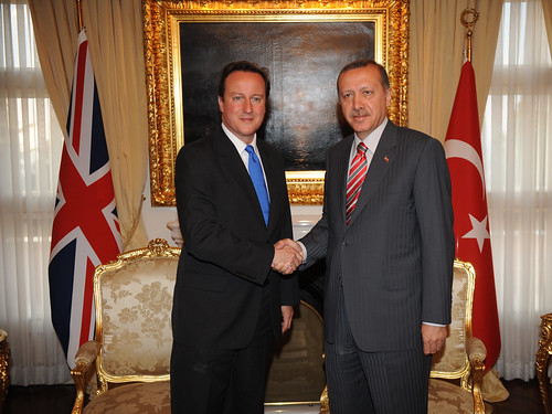 PM and Prime Minister Erdoğan by The Prime Minister's Office.