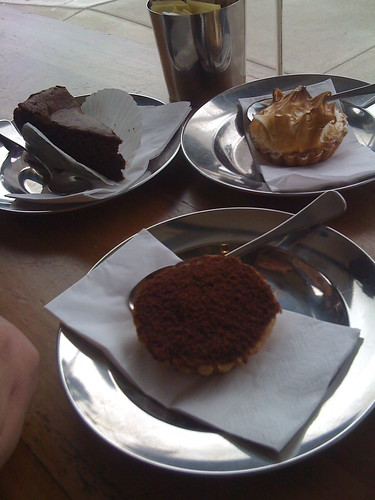 desserts at bourke st bakery