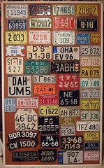 MOTORCYCLE PLATES ---DISPLAY BOARD #1, CANADIA...