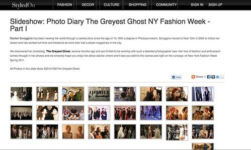 Styled On NYFW Photo Diaries
