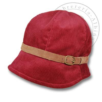 Sombrero pana mujer