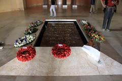 Grave at Australian War Memorial Museum