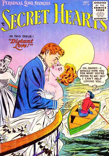 Secret Hearts #28 (Jun-Jul 1955)