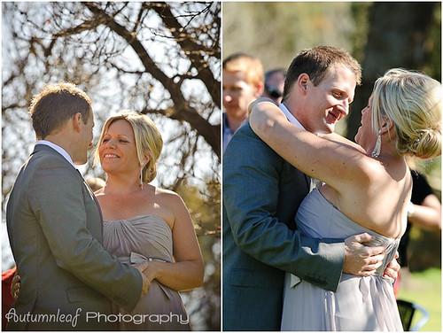 Angela & Jason's Wedding -  Ring and Kiss 2