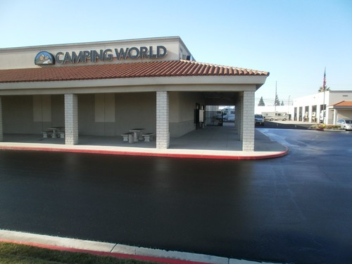 Camping World La Mirada Sealcoat