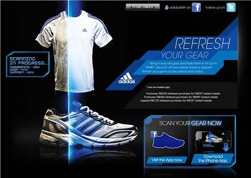 Adidas - Refresh Your Gear