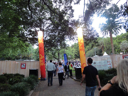Night noodle markets: Entrance