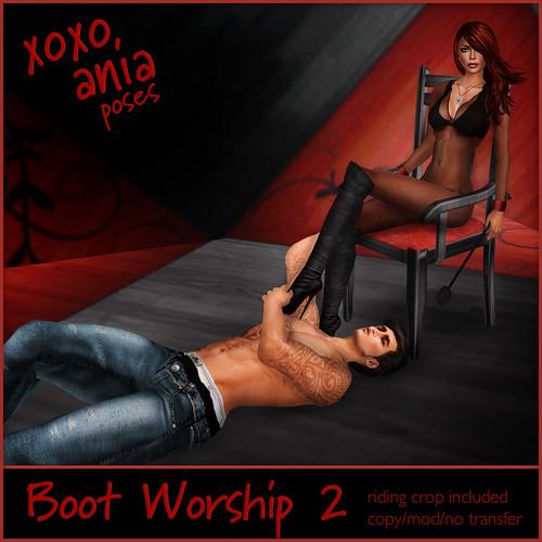 *xoxo ania* Boot Worship