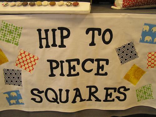 New HipToPieceSquares collaborative sign