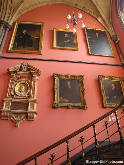 Faces of Randolph Staircase