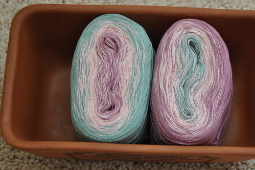 Wolle's Yarn Creations Color Changing Cotton 50g.