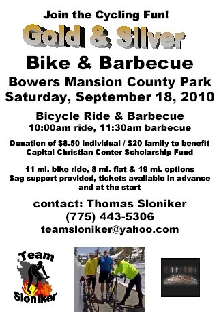 Bike and Barbecue flyer
