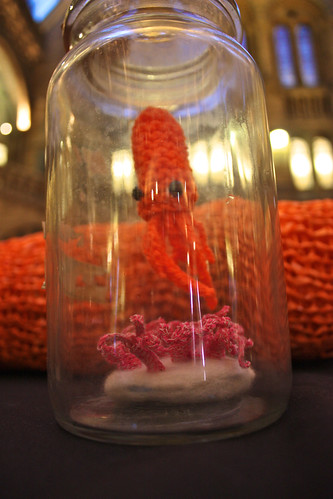 Stitch a Squid at the Natural History Museum: in pictures