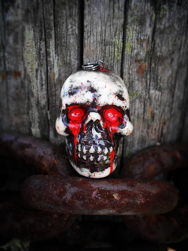 Blood Skull Front