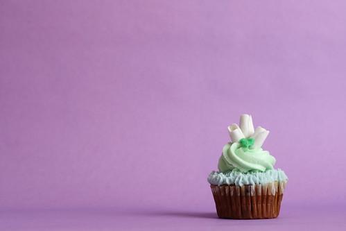 Floral Theme Cupcake