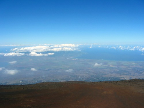 maui from the summit