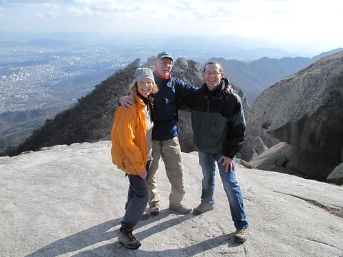 IPO conquers Mt. Bukansan near Seoul