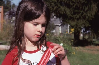 Day 200/365 - Willow's ice pop
